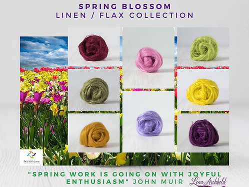 Flax Collection - Spring Blossom, 200 grams