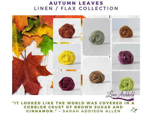 Flax Collection - Autumn Leaves, 200 grams