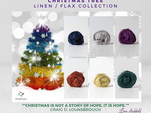 Flax Collection - Christmas Tree, 200 grams