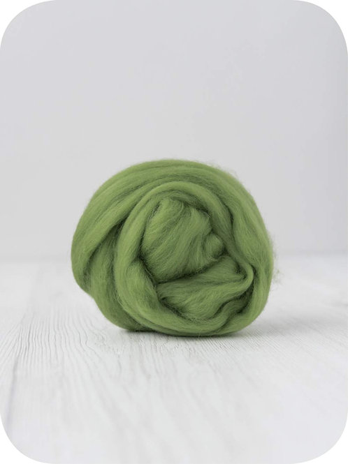 19 mic Superfine Merino Wool - Leaf, 50 g (1.76 oz)