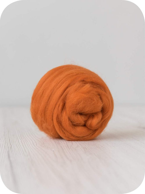 19 mic Superfine Merino Wool - Marigold, 50 g (1.76 oz)
