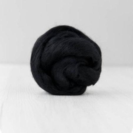 19 mic Superfine Merino Wool - Dark, 50 g (1.76 oz)