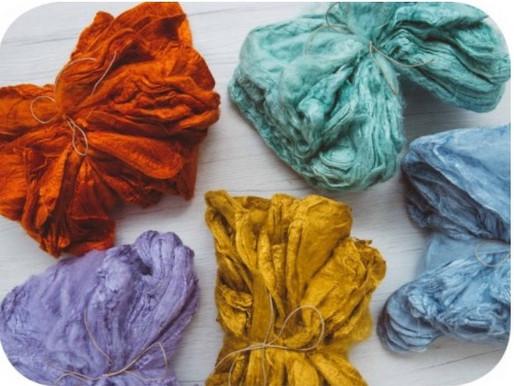 Silk Hankies For Felting