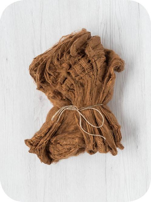 Silk Hankies -  CINNAMON, 10 grams