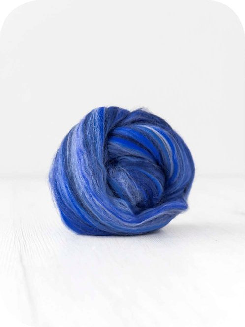 19 mic Superfine Merino Wool - Ocean, 50 g (1.76 oz)