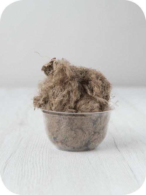 Sari silk waste - EARTH, 20 grams