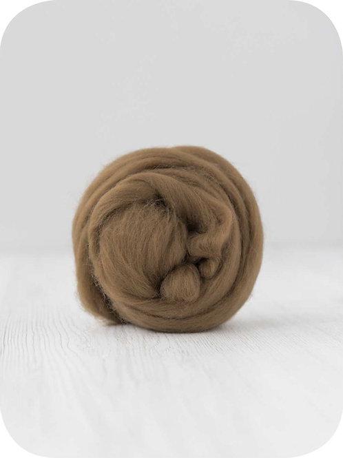 19 mic Superfine Merino Wool - Nut, 50 g (1.76 oz)
