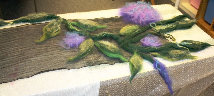 Nuno Felted Scarf Workshop