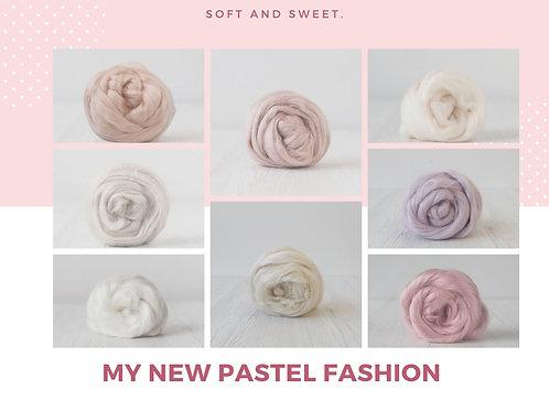 Mix of Viscose - Pastel Fashion, 200 grams