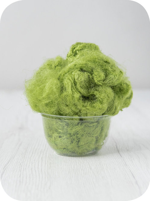 Sari silk waste - CAIPIRINHA, 20 grams