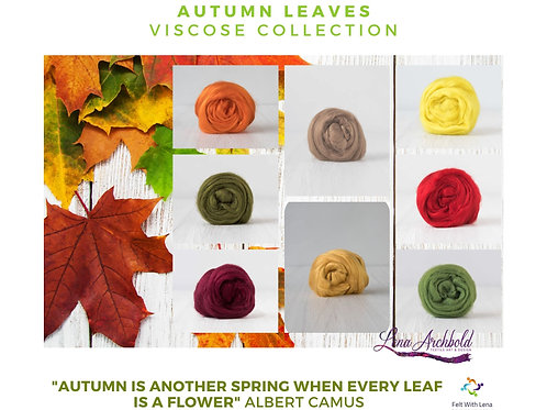 Mix of Viscose - My Autumn Leaves, 200 grams