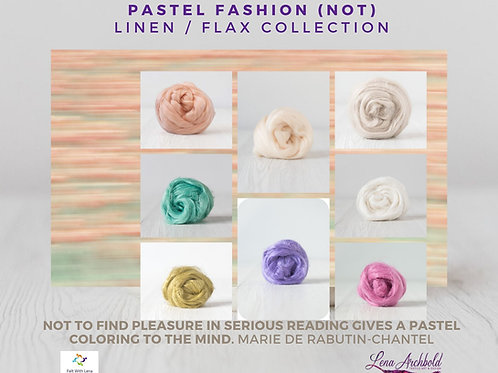 Flax Collection - Pastel Fashion, 200 grams