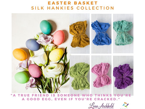 Silk Hankies Collection - Easter Basket, 30 grams