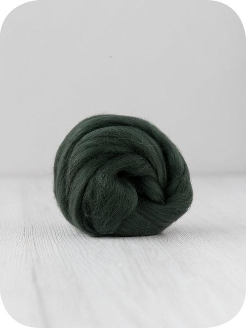 19 mic Superfine Merino Wool - Fir, 50 g (1.76 oz)
