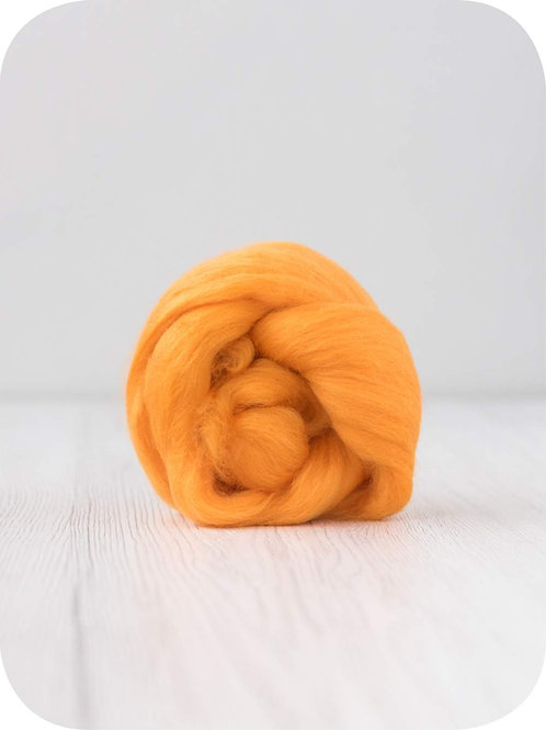 19 mic Superfine Merino Wool - Melon, 50 g (1.76 oz)