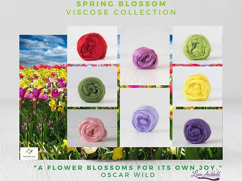 Mix of Viscose - Spring Blossom, 200 grams