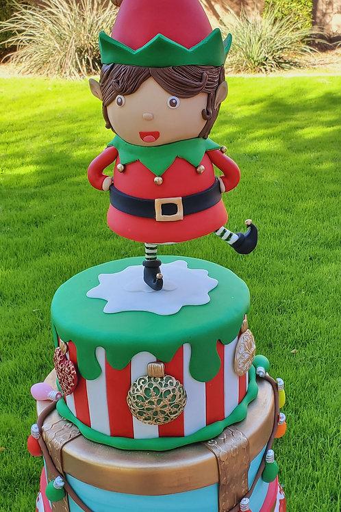 Spinning Elf Cake Tutorial