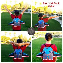 Jet Pack Cake