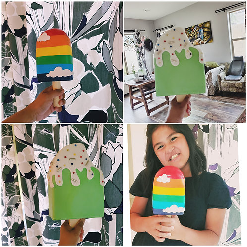 Set of 2 Popsicle Cake Kits - big and small with Zoom and recorded tutorials