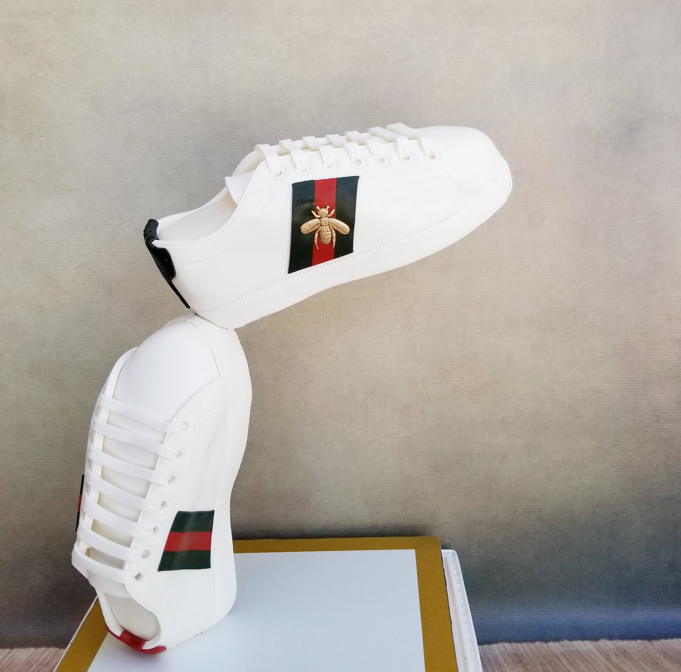 Gucci Shoes Cake