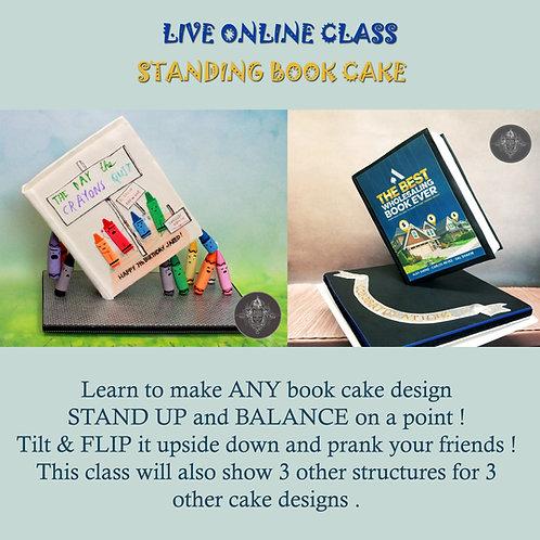 Tilting Book Cake Master Class
