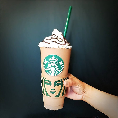 Venti Frapp Cake - a chocolate cup with cake inside - Pick Up