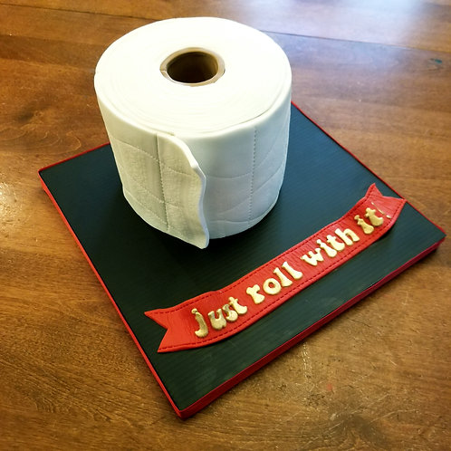 TP Cake - perfect for the times ! Delivery
