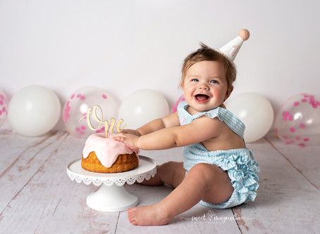 Cake Smash: Baby Coco and Sweet Somethings | Dallas-Fort Worth, Texas