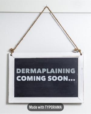 Dermaplaning excitement!