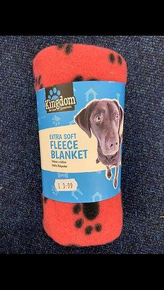 Extra Soft Dog Fleece Blanket