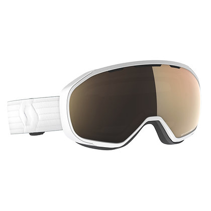 Scott Fix light sensitive ski Goggle White