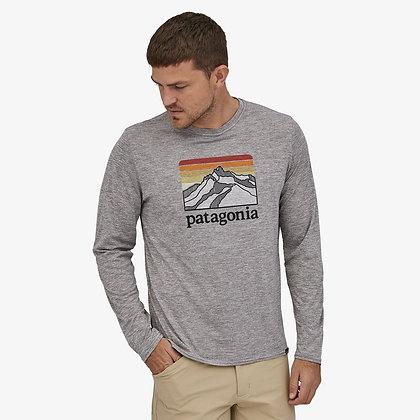 Men's Long-Sleeved Capilene® Cool Daily Graphic Shirt