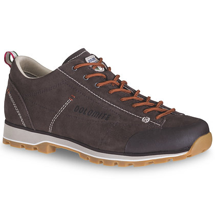 Dolomite 54 Low Men's Shoe Dark Brown Red