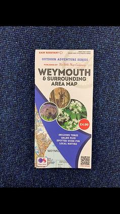 Weymouth & Surrounding Area Map