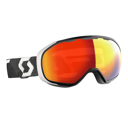 Scott Fix light sensitive ski Goggle Black White