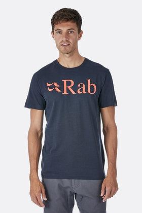 Rab Men's Stance Logo Organic Cotton Tee