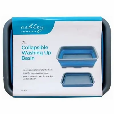 Ashley Leisure Collapsible Washing Up Basin 7L
