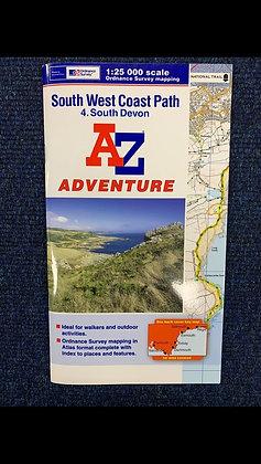 Ordnance Survey South West Coast Path (South Devon)