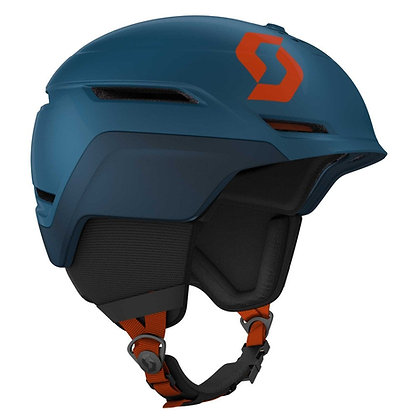 Scott Symbol 2 Plus Ski Helmet Blue Sapphire Orange