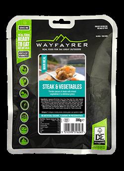 Wayfayrer Steak and Vegetables
