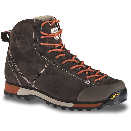 Dolomite 54 High GTX Men's Boot Dark Brown Red