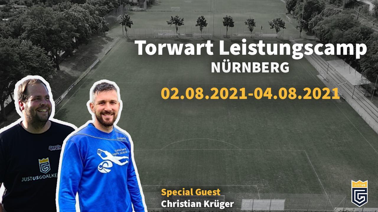 Torwart Leistungscamp Nürnberg 10:00 Uhr