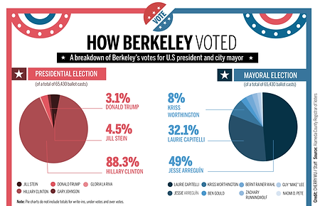 How Berkeley Voted infographic