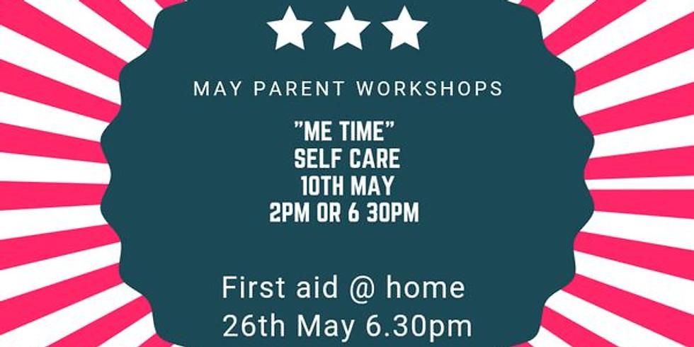 """me time"" self care workshop"