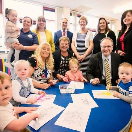 Minister Weir Visits Ladybirds