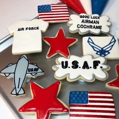 USAF Cookies