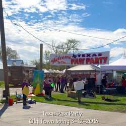 Entrance, Texas Paw Party, Old Town Sping 3-12-2016.jpg