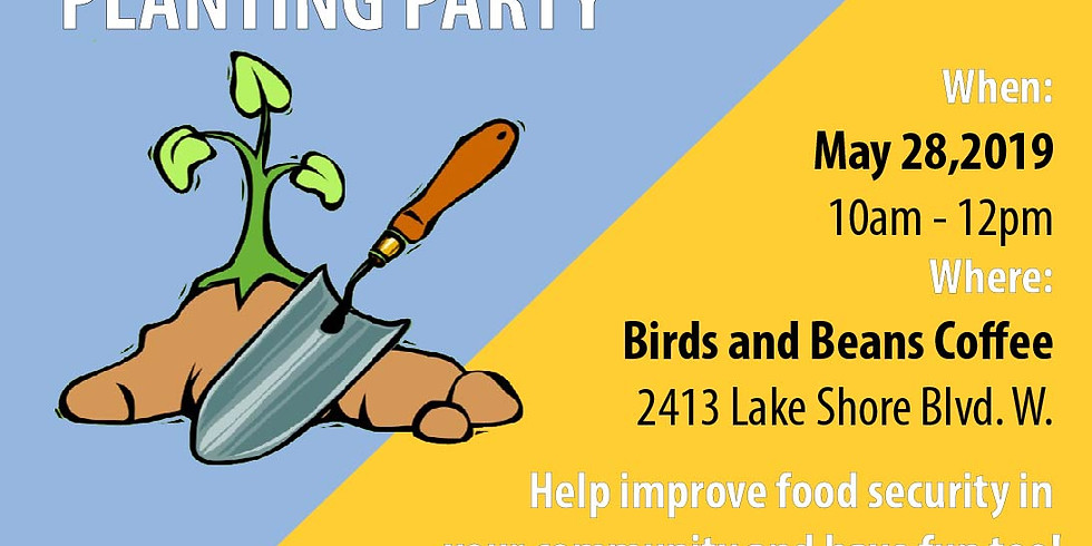 Birds and Beans Planting Party