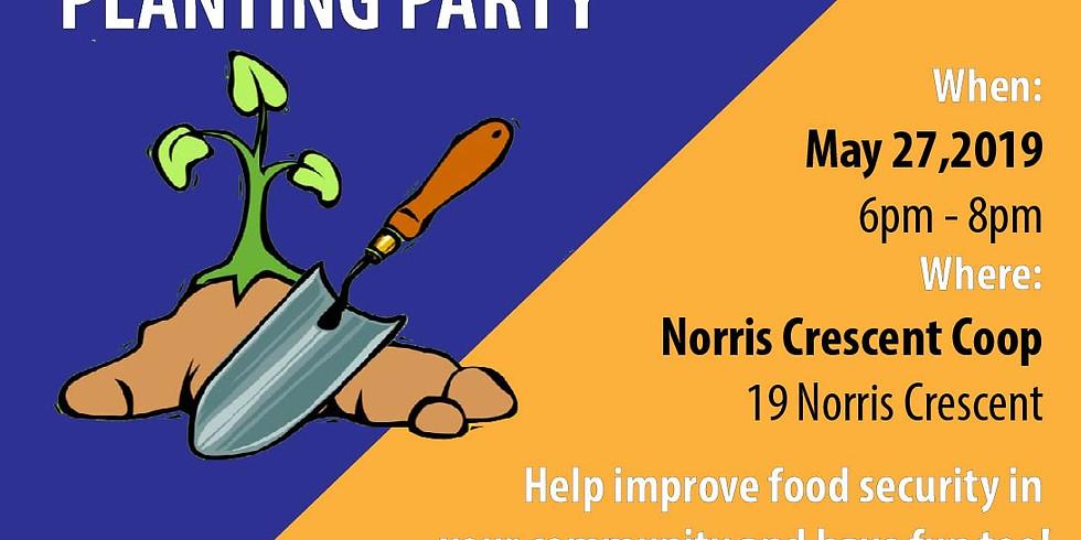 Norris Crescent Coop Planting Party