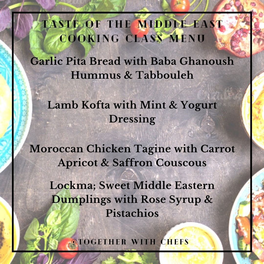 Taste of the Middle East - Jan 30th